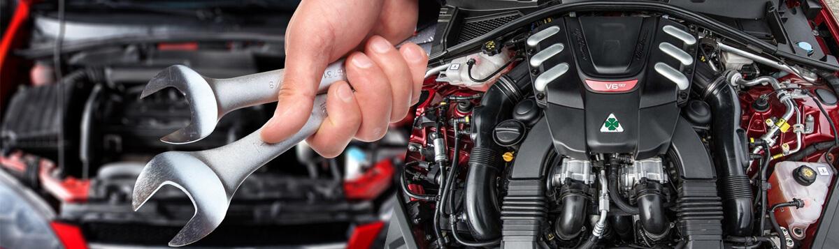 капитальный ремонт двигателя альфа ромео 33